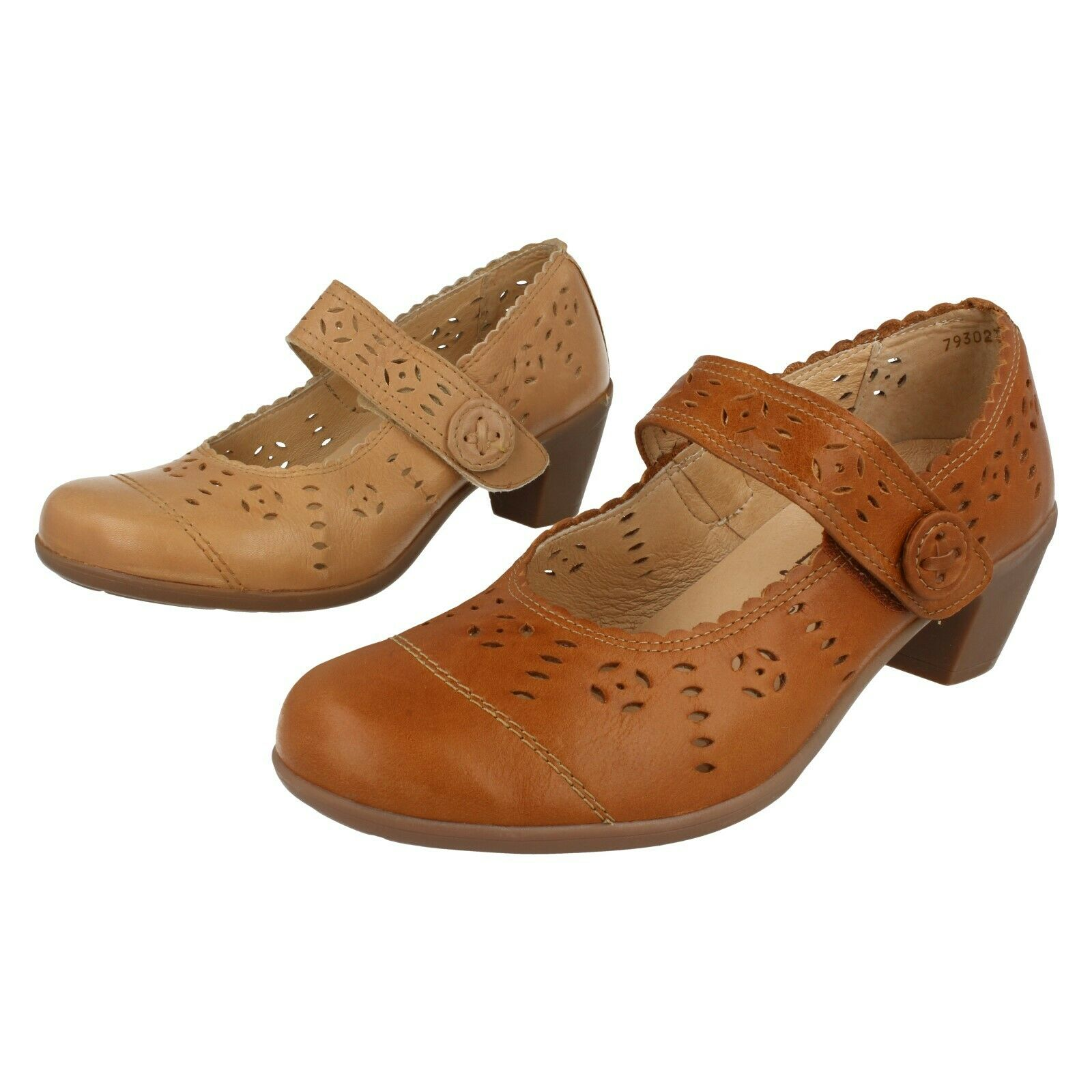 Ladies Sand   Tan Leather Rip Tape Esy B shoes Rosslare