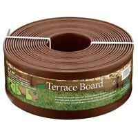"Master Mark ""Master Mark"" Terrance Board Brown Coil Edging (95340) 95340 (011047953402) Garden"
