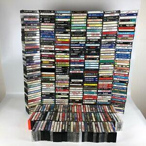 Lot-of-over-400-Cassette-Tapes-Mixed-Genres-Michael-Jackson-Elvis-Elton-John-etc
