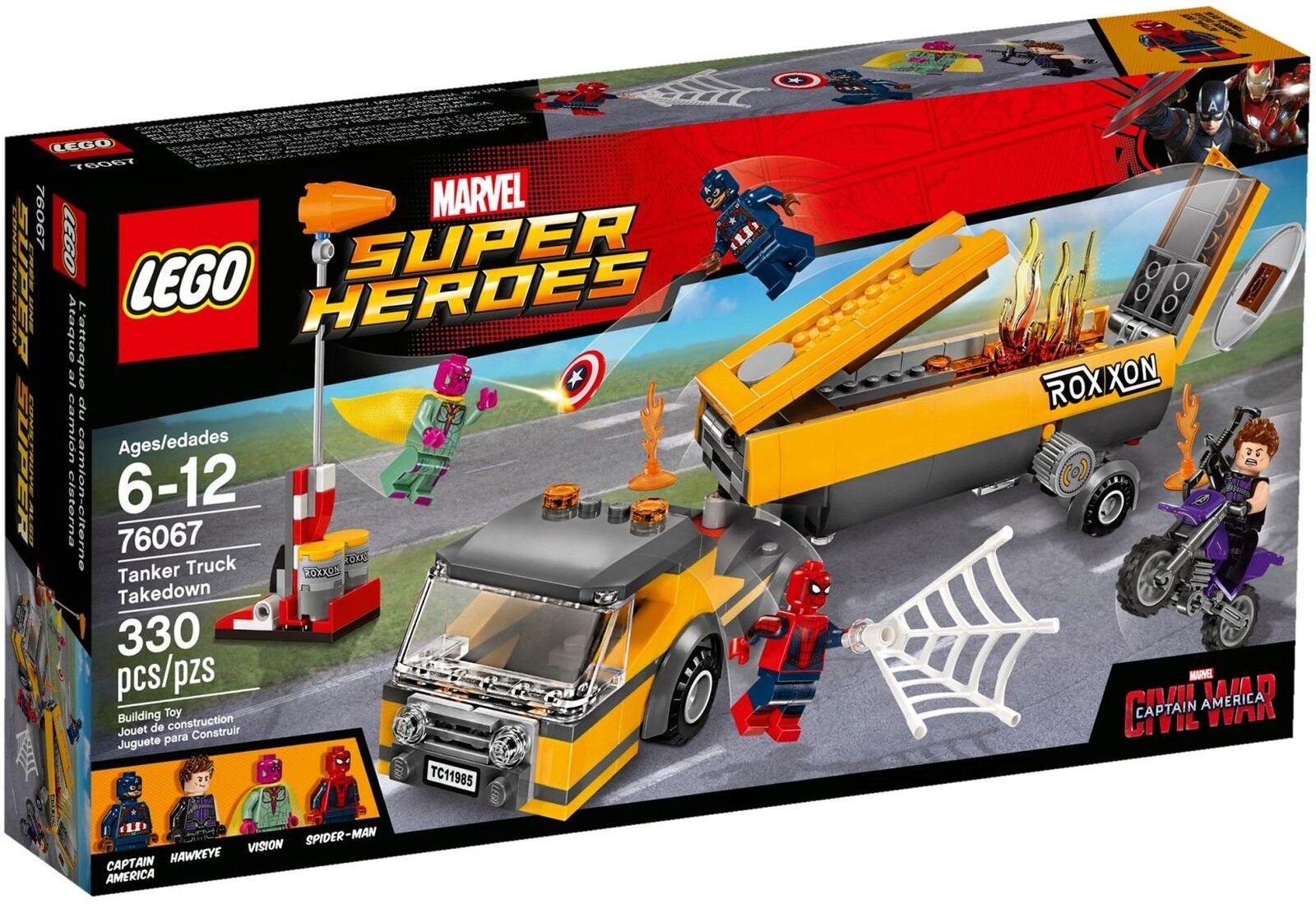 LEGO® Marvel Super Heroes 76067 Tanklaster-Überfall NEU OVP NEW MISB NRFB