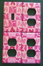 Breast Cancer Beleive Custom Light Switch Plate Cover Choos Your Own Size Ebay