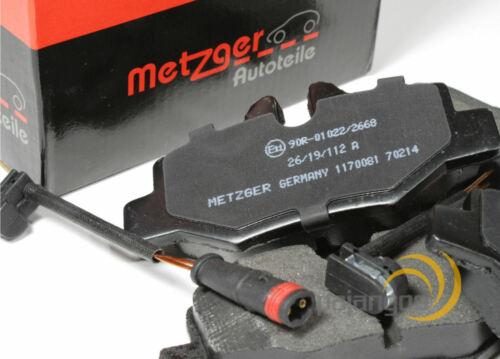W639 Metzger Bremsscheiben Beläge Warnkontakt für vorne hinten Mercedes Vito