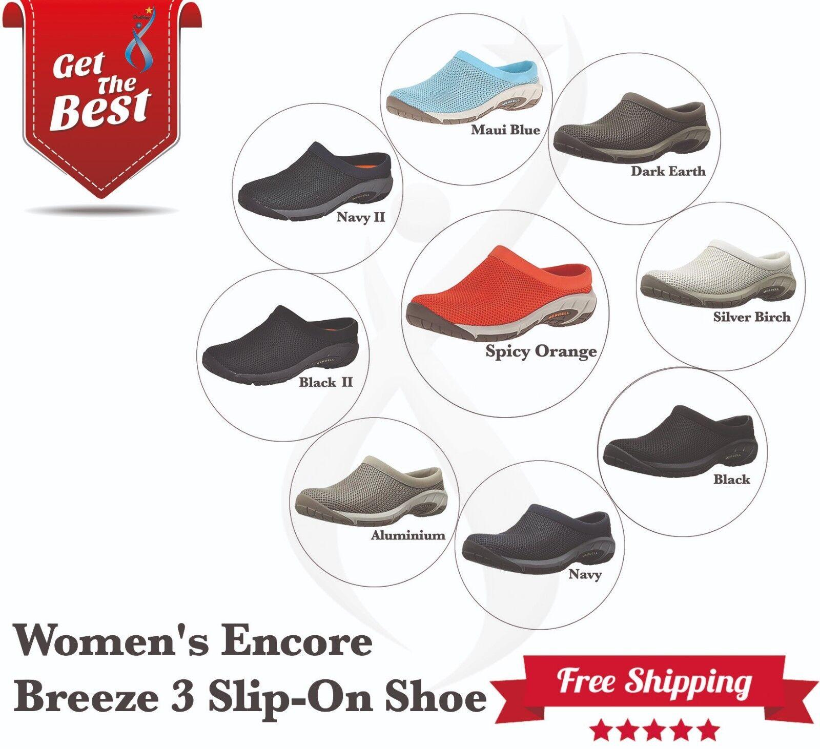 MERRELL Chaussures Femmes Encore Breeze 3 Slip-On chaussures