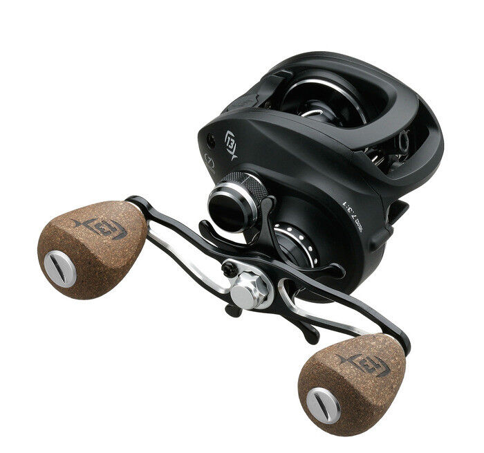 13 Bait Fishing Concept A Niedrig Profile Bait 13 Casting Reel, Right Hand Retrieve 6.6:1 972741