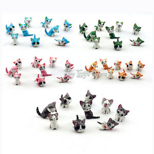 9pcs Figures Cute Chi's Sweet Home Cat charms