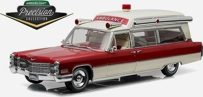 Grünlight - erhebung 1,18 1966 cadillac s & s hohem krankenwagen