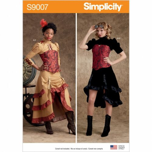 6-8-10-12-14 Simplicity Sewing Pattern 9007 Costumes H5
