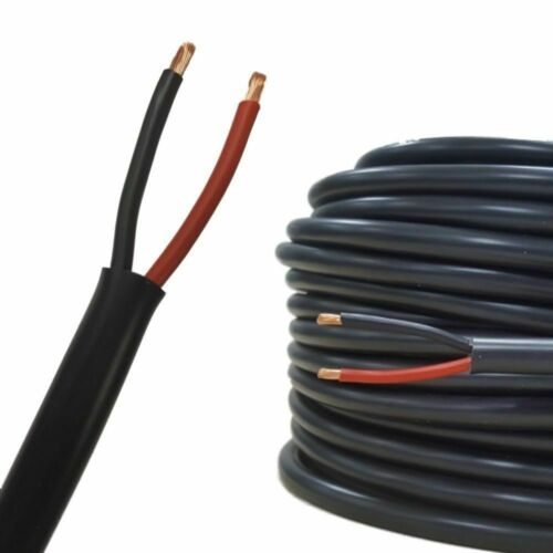AUTOMOTIVE 12V TWIN CORE 2 THIN WALL THINWALL ELECTRICAL AUTO CABLE WIRE WIRING