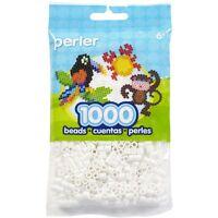 Bulk Buy: 5 X 1,000 White Color Iron On Fuse Beads: 80-19001