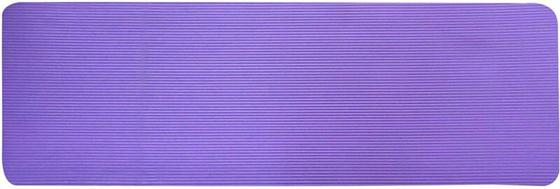 GoYoga All-Purpose 1/2-Inch Extra Thick High Density Anti-Tear Exercise Mat