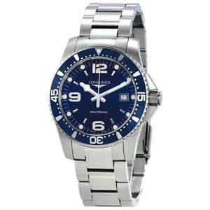 15033a910fd Longines HydroConquest Blue Dial Men s Watch L37404966 683498488774 ...