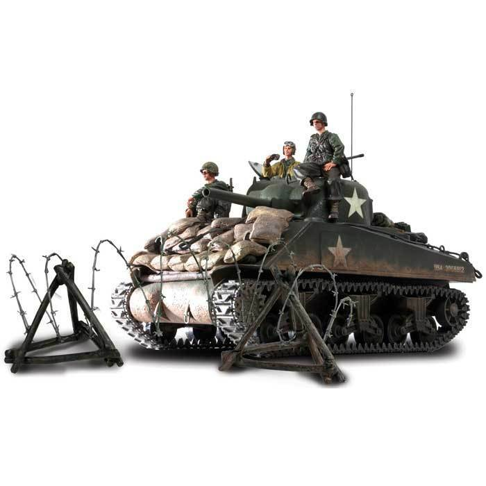 1/16 M4A3 Sherman, Normandy 1944, Forces of Valor 1:16 UNIMAX   85007