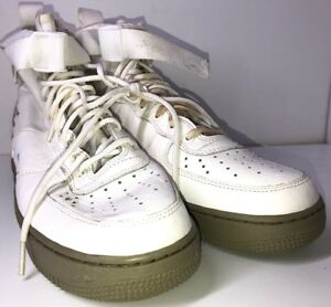 competitive price 13bc9 eaea9 Details about Nike Air Urban Utility FTWR SF AF1 MID Mens Size 9 White  917753-101 *READ*