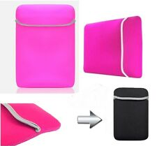 """Pink 7"""" 7 Inch Soft Sleeve Carry Case Bag Pouch Fr Epad Apad Android Tablet"""