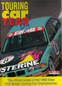 Touring-Car-Year-Annual-1992-Vauxhall-BMW-Toyota-UK-Results-New-Circuits-Hoy