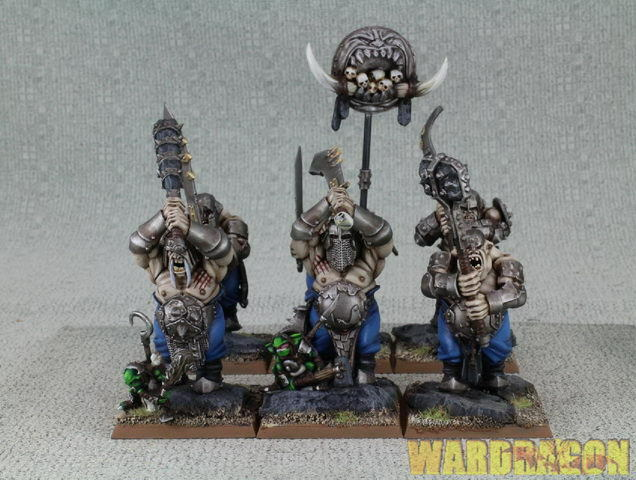 hasta 42% de descuento 25mm Warhammer reinos ogro Pintado Wds IRONGUTS IRONGUTS IRONGUTS e63  precios razonables