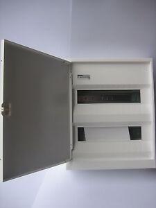 Verteiler-Kleinverteiler-Aufputz-Sicherungskasten-2reihig-mit-Tuer-Gewiss