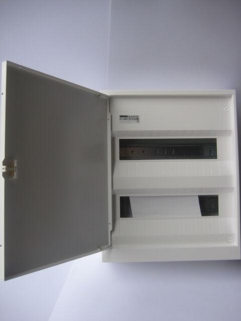 Verteiler Kleinverteiler Aufputz Sicherungskasten 2reihig mit Tür Gewiss