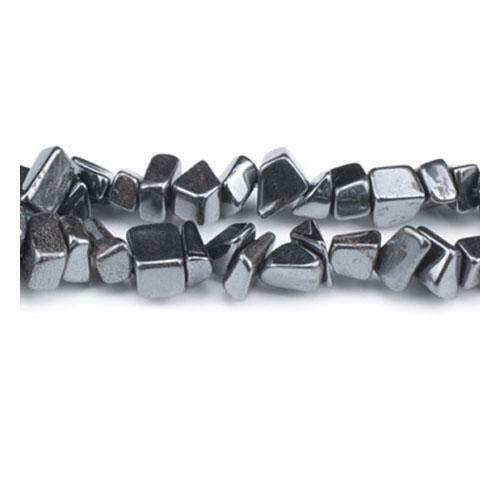 Non Magnetic Pcs Handcut Gemstones Crafts Chip Beads 5-8mm Grey 240 Hematite