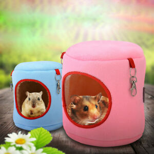 Pet Products Guinea Pig Chinchillas Squirrel Bed Nest Hamster House Hammock Cage Accessories Mini Animals Hamster Bed Color Randomly