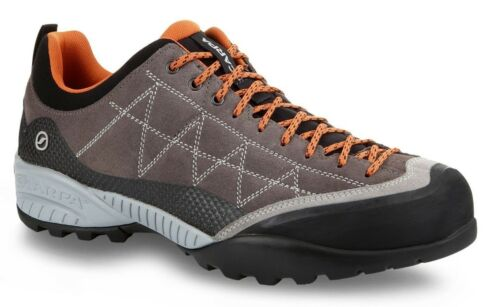 Scarpa Zen Pro 72530//350 Charcoal//Tonic Suede S Tech Vibram Light Hiking Shoes
