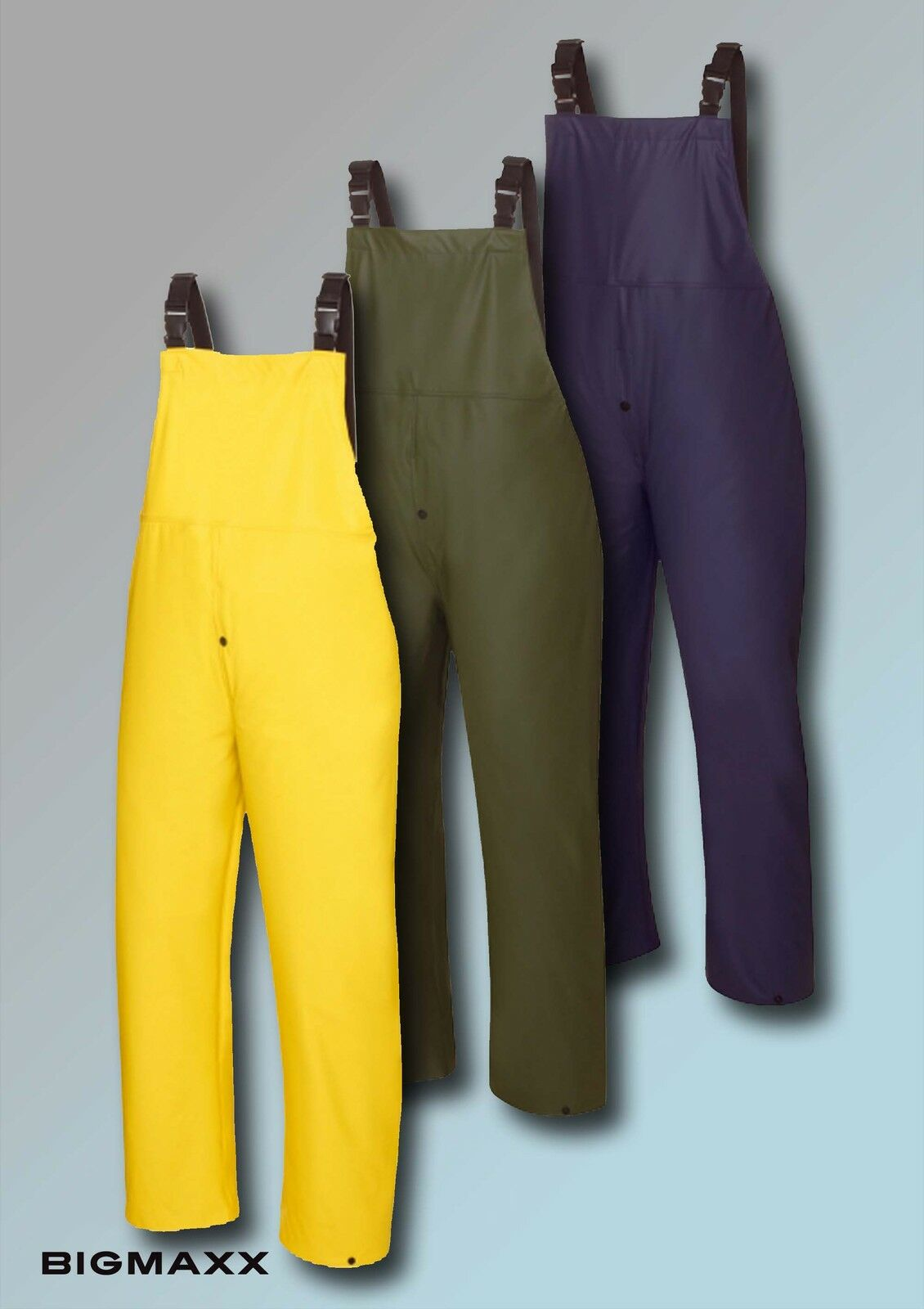 Texxor Rain Dungarees KEITUM up to sz. 3XL in 3 Colours Angler Trousers Waders