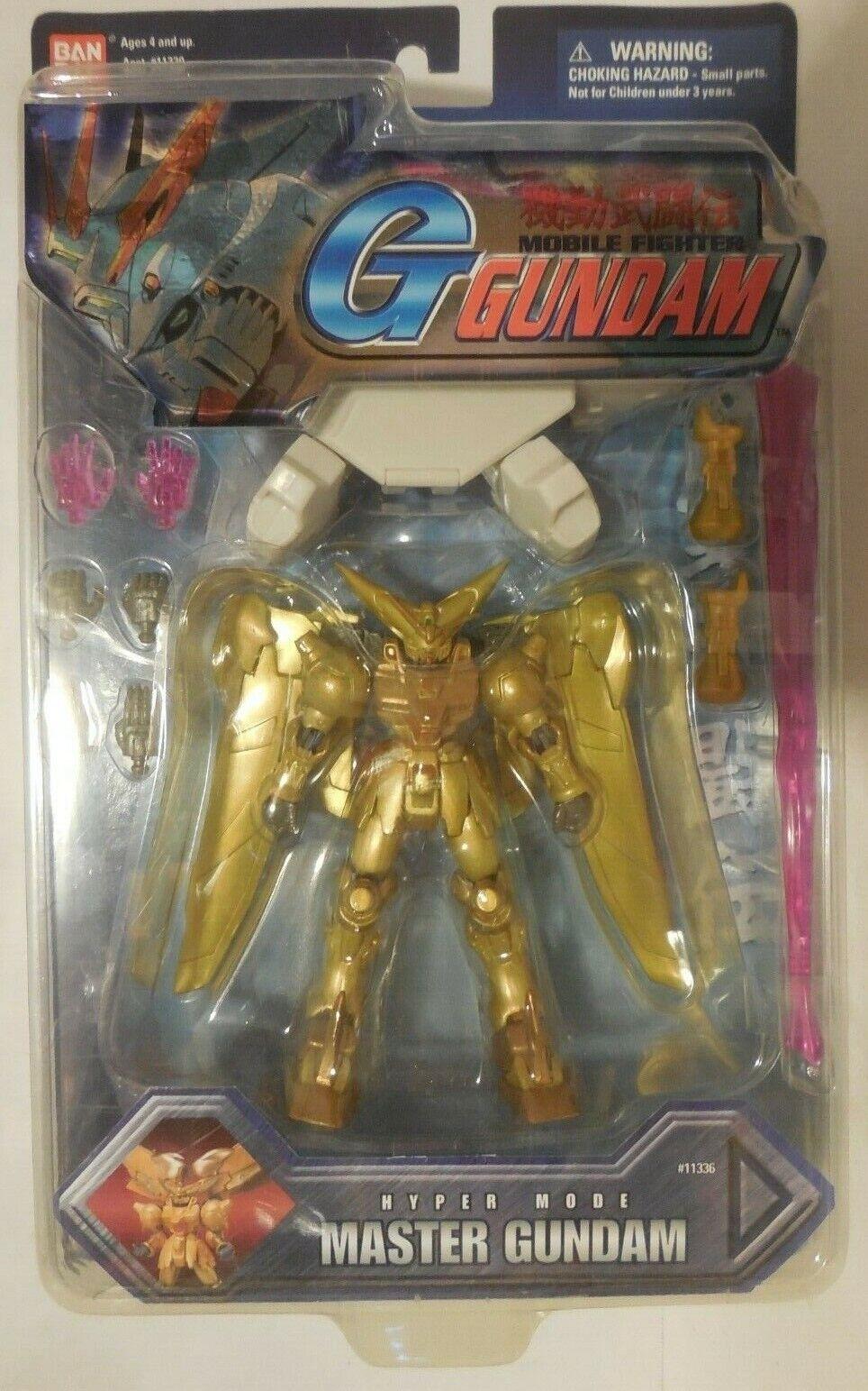 Bandai G Gundam Mobile Fighter Hyper Mode Master Gundam