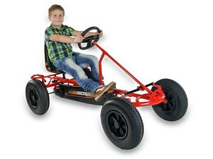 KIDS-ADULTS-DINO-RED-PEDAL-GO-KART-SPRINT-AF-plus-FREE-BACK-PASSENGER-SEAT