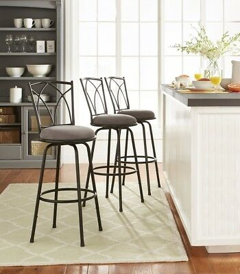 Adjule Height Swivel Barstools