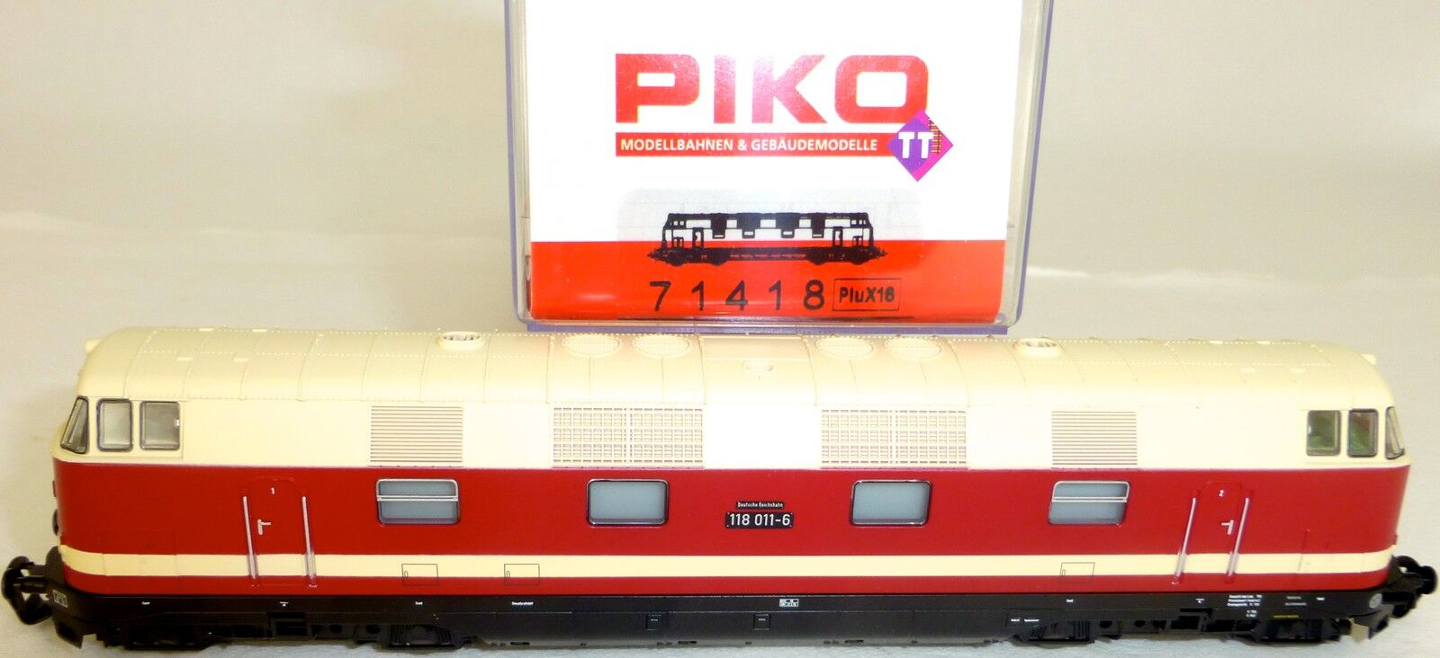 Br 118 011 6 DIESEL DR ep4 DSS PIKO 71418 TT 1:120 OVP NUOVO Serie Speciale µ *