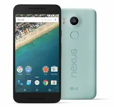 """LG Nexus 5X ICE BLUE 5.2"""" 16GB di memoria 12MP fotocamera sbloccato grado B ECCELLENTE"""