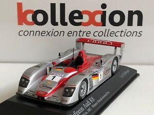 MINICHAMPS-400021301-AUDI-R8-n-1-Vainqueur-Le-Mans-2002-1-43