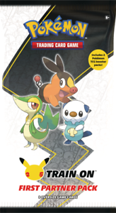 Pokemon First Partner PACK 3 Jumbo Unova Cards +2 Booster 25th PREORDER