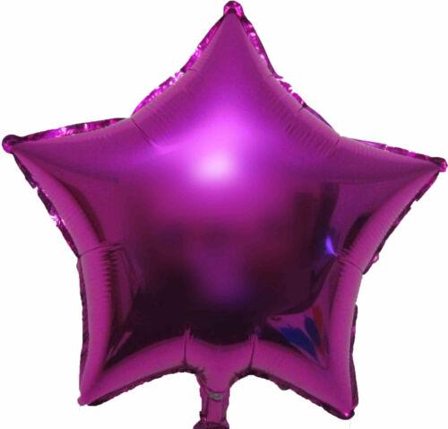 2 Star Balloon Helium Wedding Engagement Hens Night Anniversary Birthday Party
