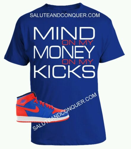 JORDAN 1 Knicks XL  NIKE KNICKS FOAMPOSITE T SHIRT by SALUTE AND CONQUER