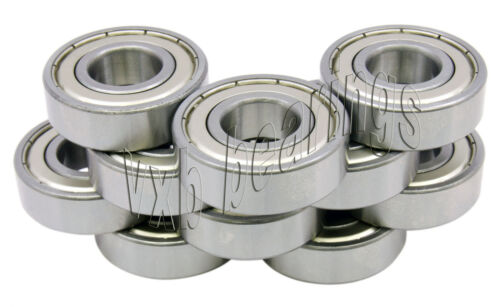 10 6202Z 15x35x11 Single 15mm//35mm//11mm Ball Deep Groove Radial Ball Bearings