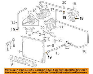 BMW OEM 98-02 Z3 3.2L-L6 Evaporator Heater-O-ring 64508390602