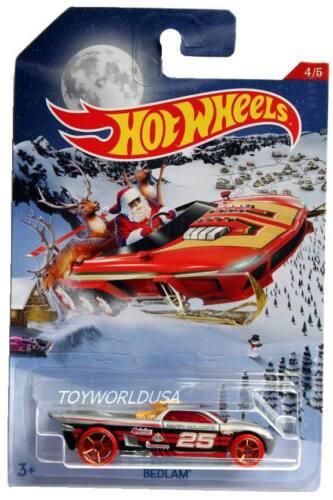 2016 Hot Wheels Holiday Hot Rods Christmas #4 Bedlam