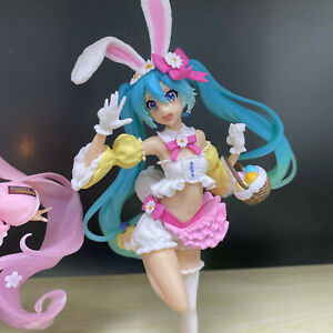 VOCALOID-Hatsune-Miku-Easter-Rabbit-Ear-Girl-Bunny-Dress-Action-Figure-Toy-BULK