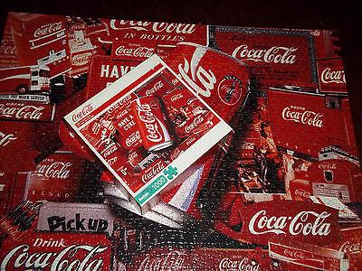 Coca Cola 1000 Piece Jigsaw Puzzle Buffalo Games Sign of Good Taste