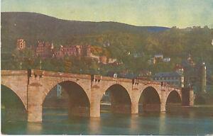 alte AK Heidelberg vor 1945, Karl Theodor-Brücke und Schloß - Bad Köstritz, Deutschland - alte AK Heidelberg vor 1945, Karl Theodor-Brücke und Schloß - Bad Köstritz, Deutschland