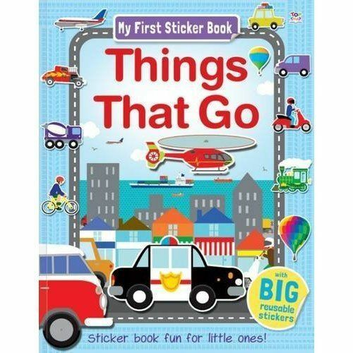 1 of 1 - Things That Go (My First Sticker Book),Graham, Oakley,New Book mon0000121612