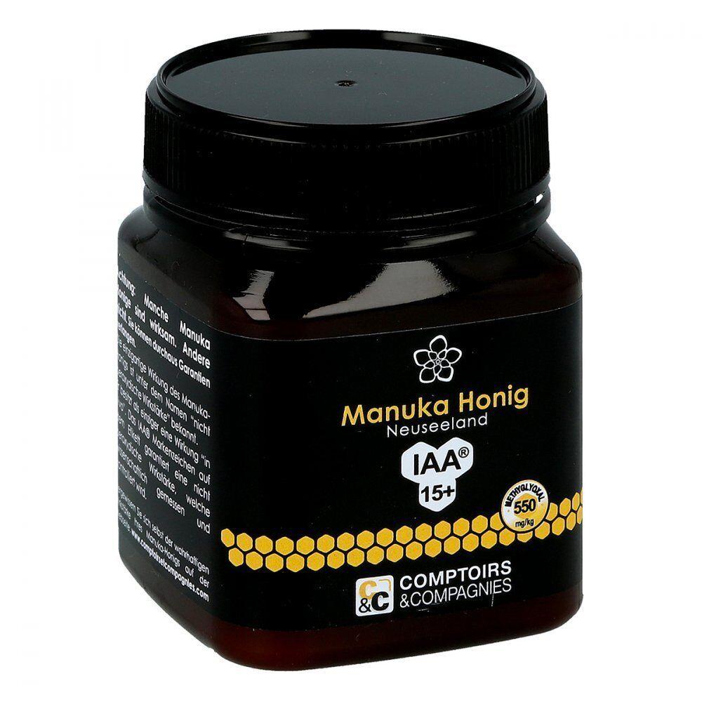 (26,20€/100gr) Allcura Manuka Neuseeland Honig MGO 550+ 15+ aus Neuseeland Manuka (250g) cb2cdf