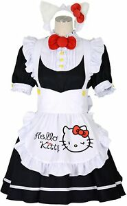 Sanrio Hello Kitty x 8mm Cosplay Maid One piece Black Select Size From Japan