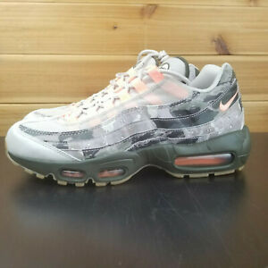 Details about NIKE AIR MAX 95 ESSENTIAL MEN'S SHOES DESERT SAND SUNSET TINT CAMO AQ6303 001