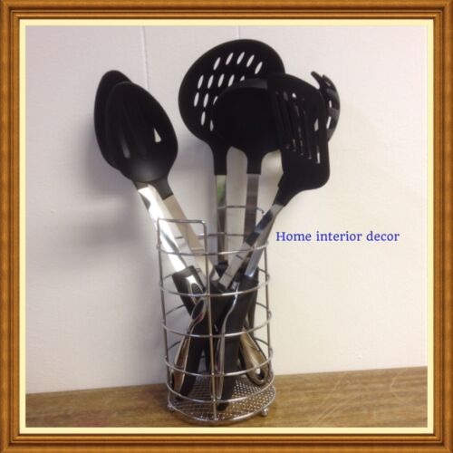 7 Piece Stainless Steel OR Non Stick  Kitchen Cooking Tool Utensil Set NO25