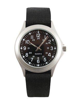 Rothco  Military Style Quartz Watch Black 4427