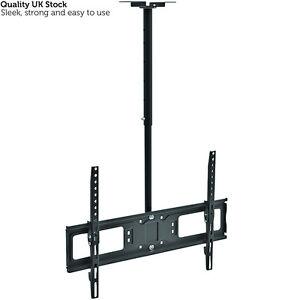 Image Is Loading 26 60 Large Ceiling Mount TV Bracket Adjustable