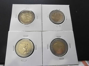 2 Euro Pièce Commémorative 2004 Tous Les Pièce Disponibles