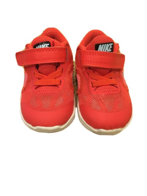 Nike Baby Trainers Orange Size 3.5 for sale